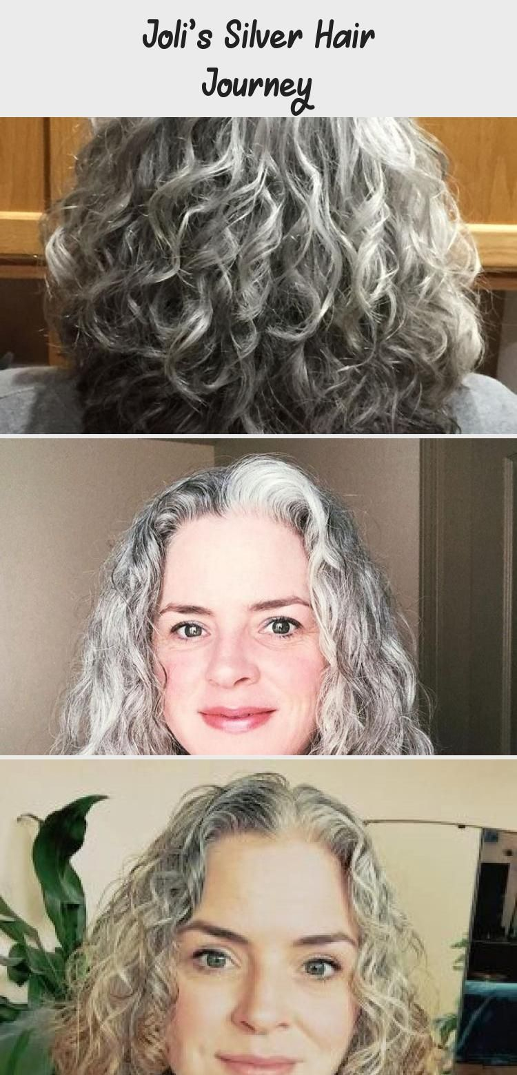 Joli's Silver Hair Journey Katie Goes Platinum