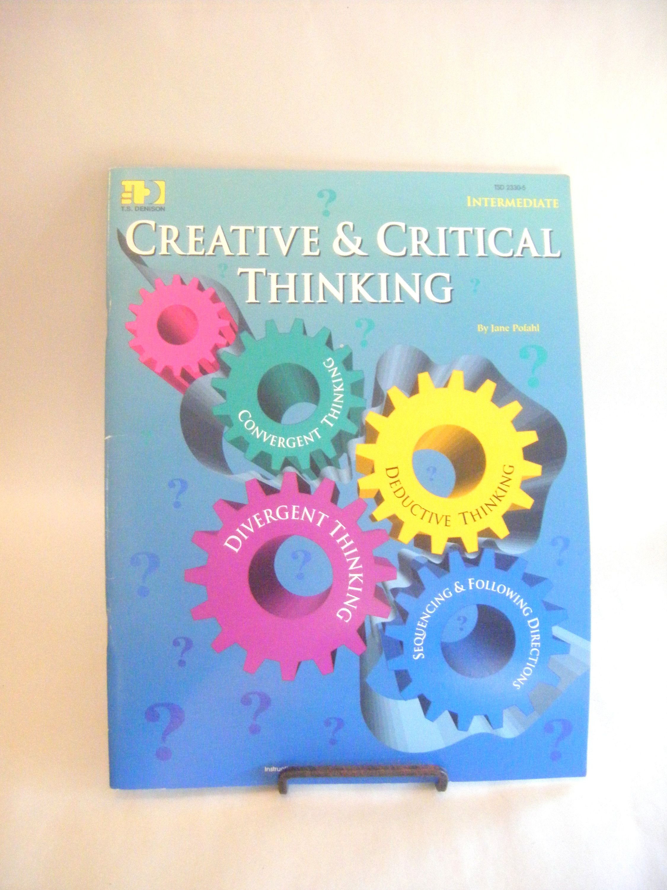 Critical Thinking Activities Book Teacher Student Learning