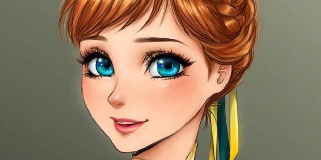 Prinzessinen Anime Mit Vollbusigen