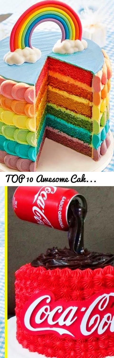 TOP 10 Awesome Cake Decorating Compilation #10 - Cake Decorating Techniques | Sa...