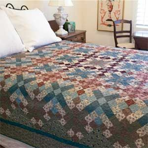 Old Sage Road: Fast Simple Classic Bed Quilt Pattern Designed by ... : quilt on bed - Adamdwight.com