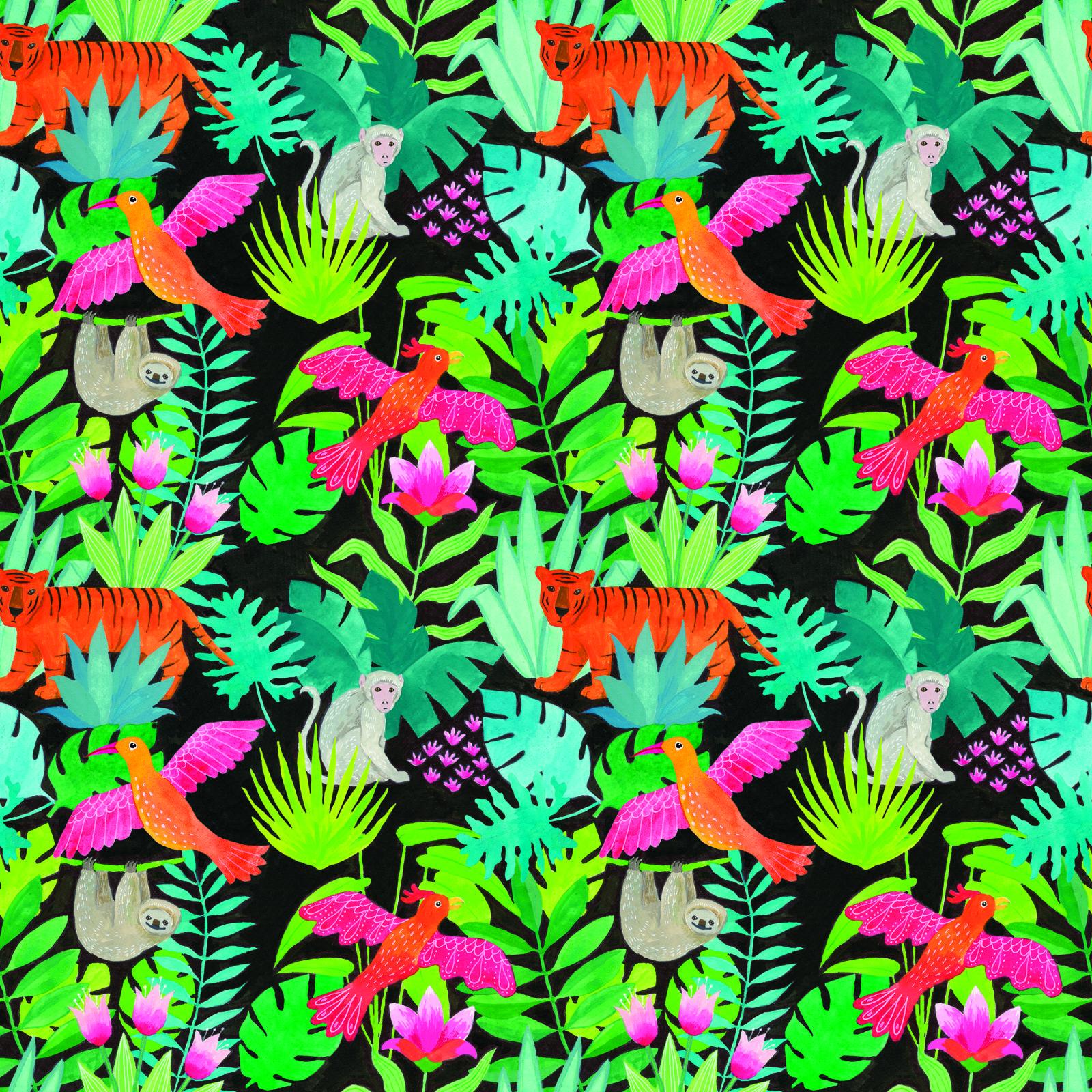 Jungle Pattern By Alison Kolesar