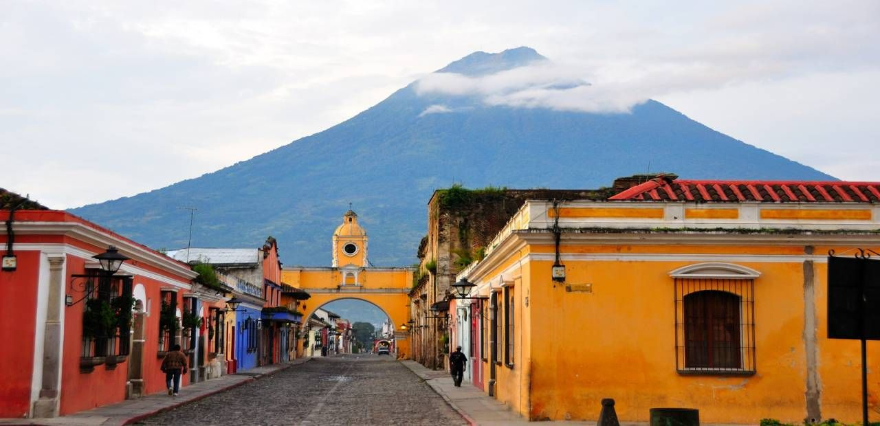 Yo exploré la cuidad de Guatemala.