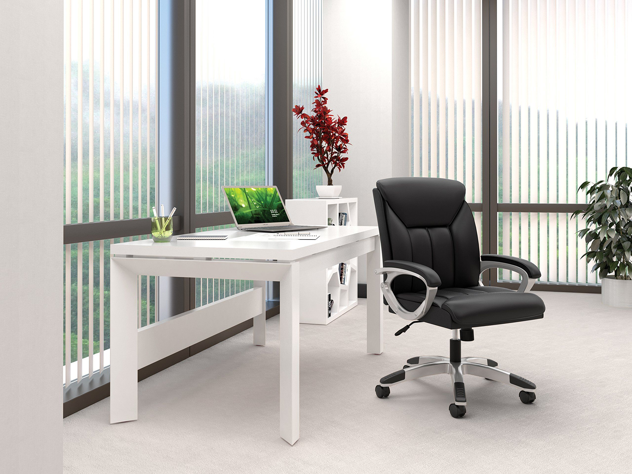 Essentials leather executive computeroffice chair with