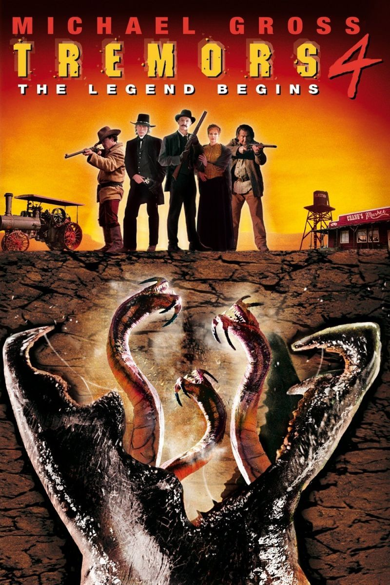 Tremors 4 The Legend Begins 2004 Tremor Movies Full Movies