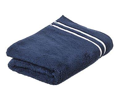 Toalla de lavabo de algodón, azul I - 50x100 cm
