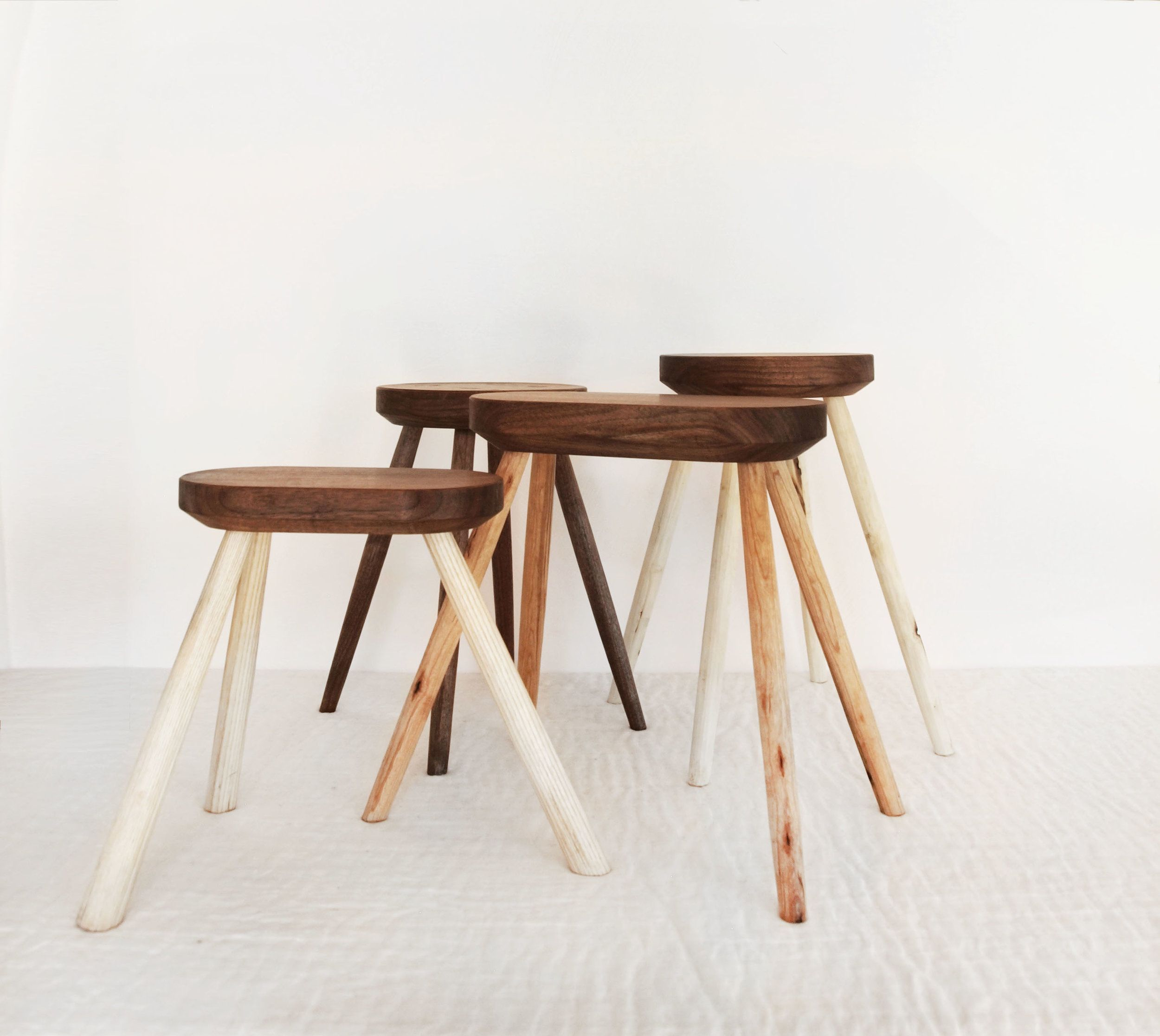 Awesome Odd Stools Brian Persico Furniture Stool Small Stool Lamtechconsult Wood Chair Design Ideas Lamtechconsultcom