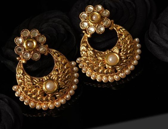 58f952a47149 Jhumkas are one of the most elegant and stylish type of traditional  earrings. It is a timeless jewellery ornament that never fades out of  fashion.