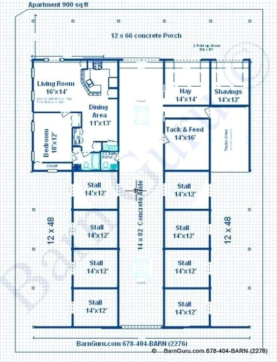 barn with apartment plans - Google Search | Horse barn ...