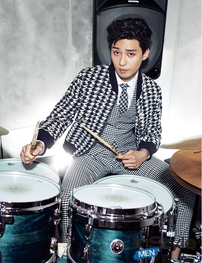 Park Seo Joon - InStyle Magazine September Issue '14