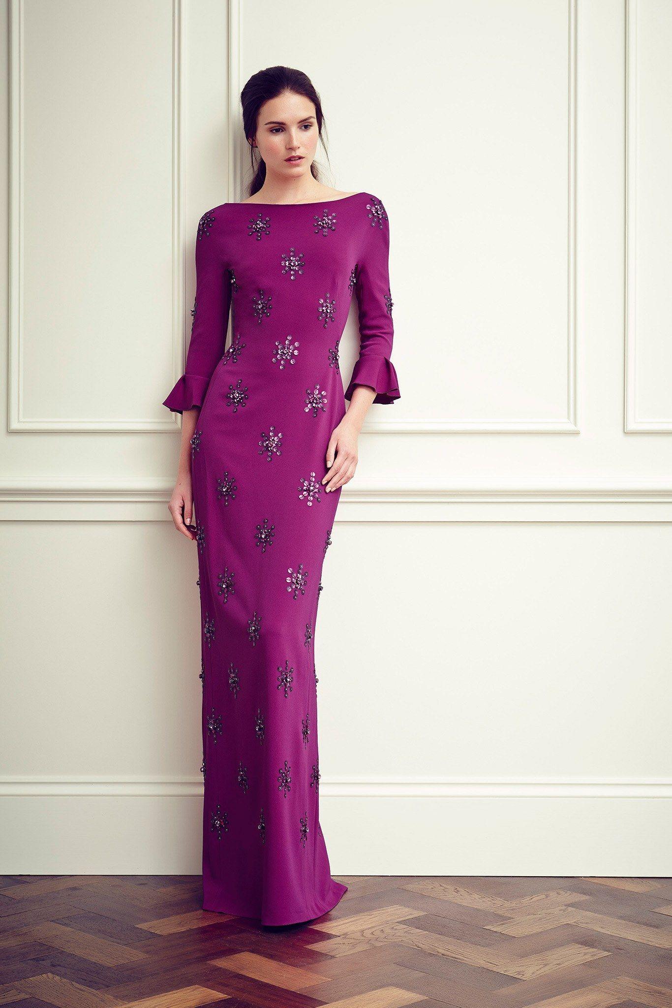 Lujo Vestidos De Cóctel Jenny Packham Ideas Ornamento Elaboración ...