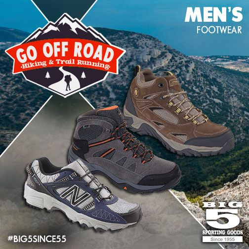 Go Off Road!   Big 5 sporting goods