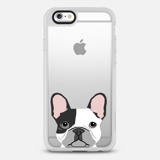 French Bulldog Black And White Spotted Cute Puppy Dog Funny Pet