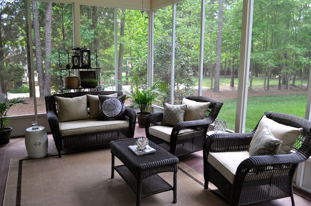 Finding Fabulous: Screened Porch... | For the Home | Pinterest ...