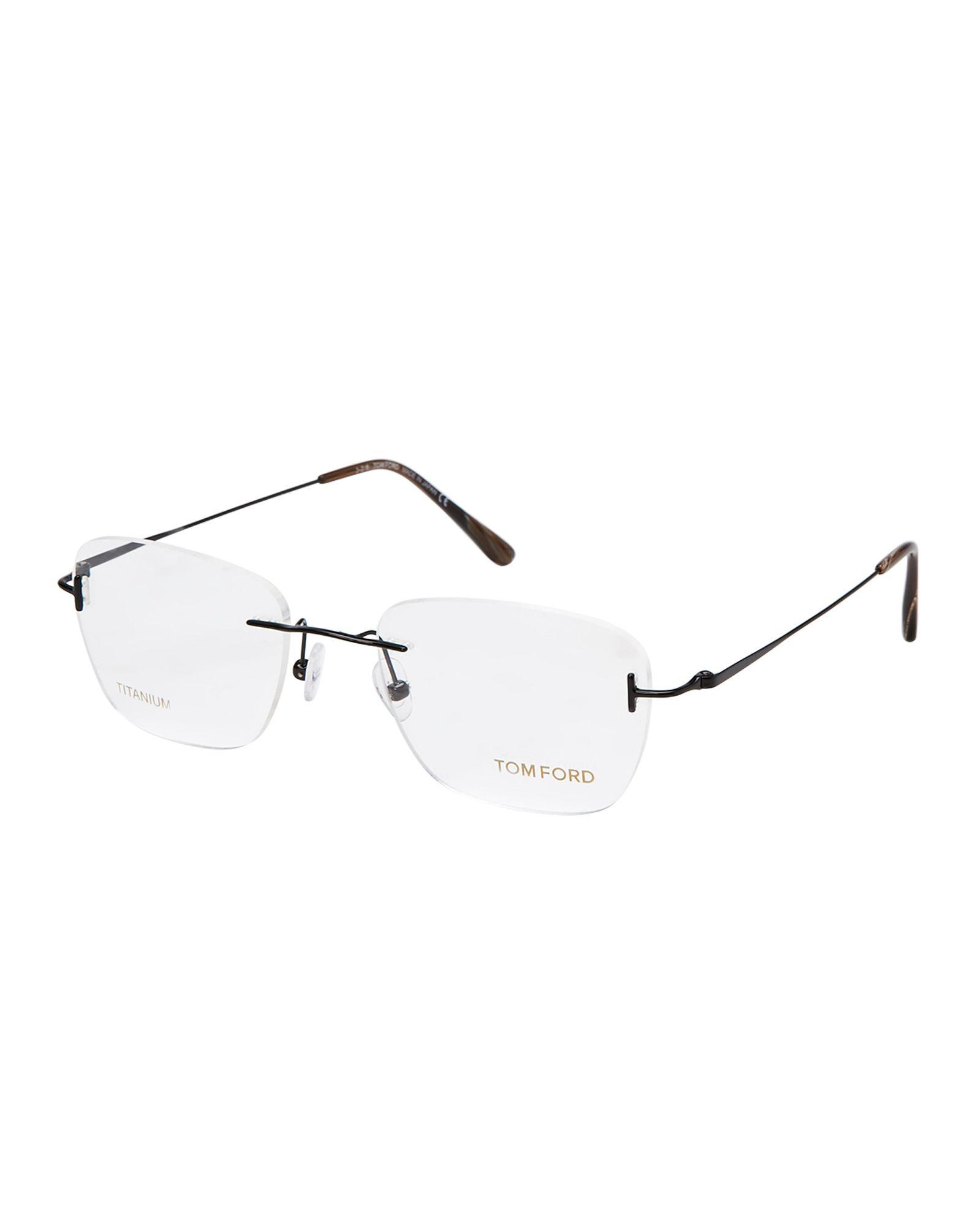 FT5495 Rimless Square Optical Frames