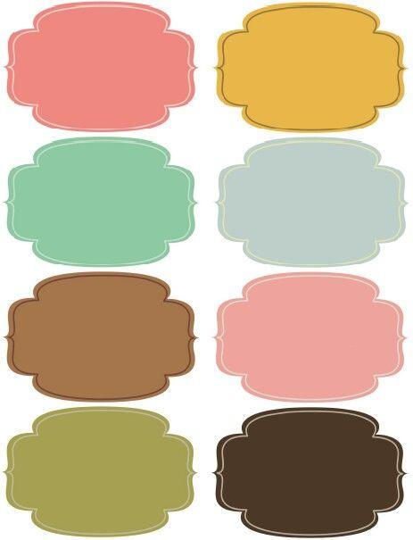 Coloridas Etiquetas Para Imprimir Etiquetas Imprimiveis