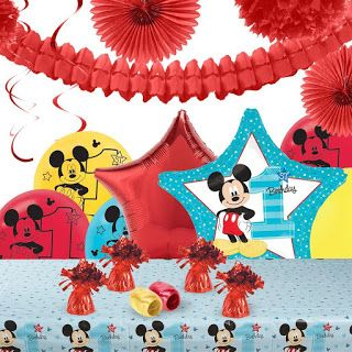 Best Theme Party Ideas Disney Mickey Mouse Kids Birthday Party