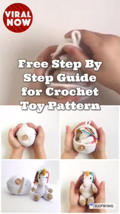 Photo of Free Step By Step Guide for Crochet Toy Pattern