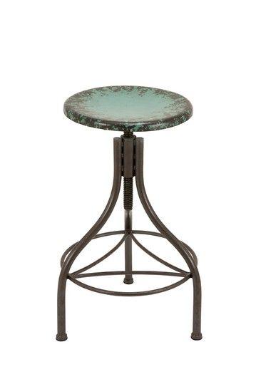 Style Of Industrial Metal Bar Stool via HauteLook Inspirational - Inspirational metal bar stools Plan