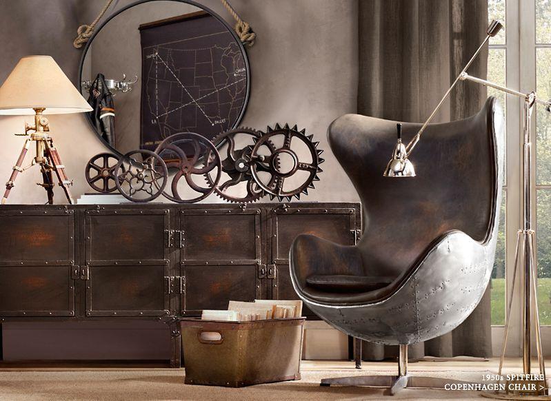 Image Result For Modernes Innendesign Erlesene Deko Steampunk Stil