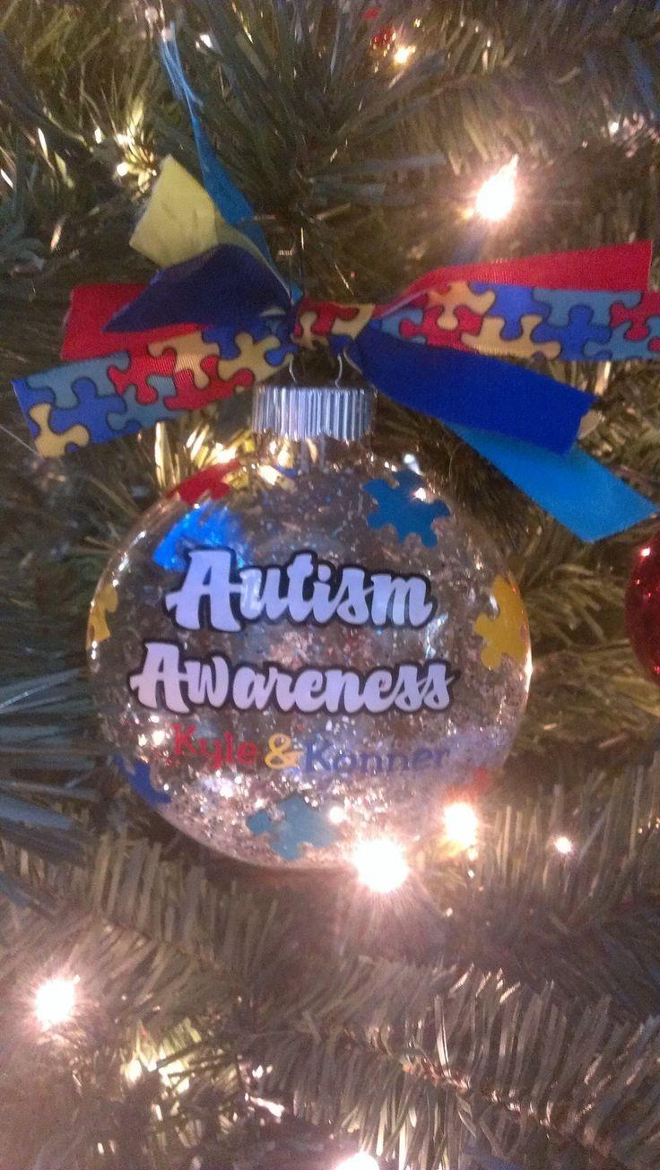 Autism Christmas Bauble