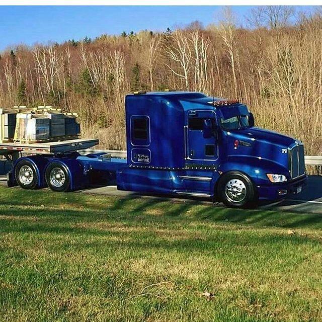 Kenworth custom T660 | Semi crazy | Kenworth trucks, Big