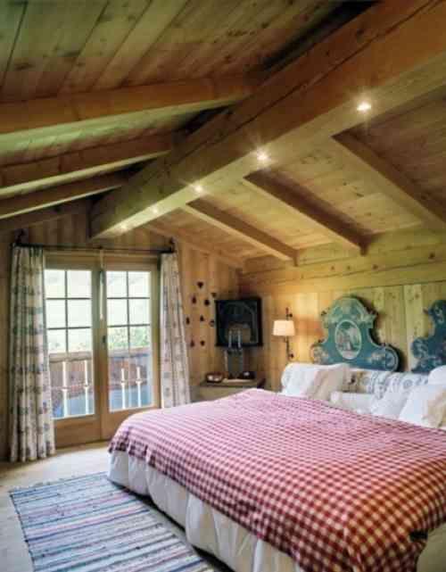 Décoration chalet - 26 chambres à coucher chalet de design intéressant