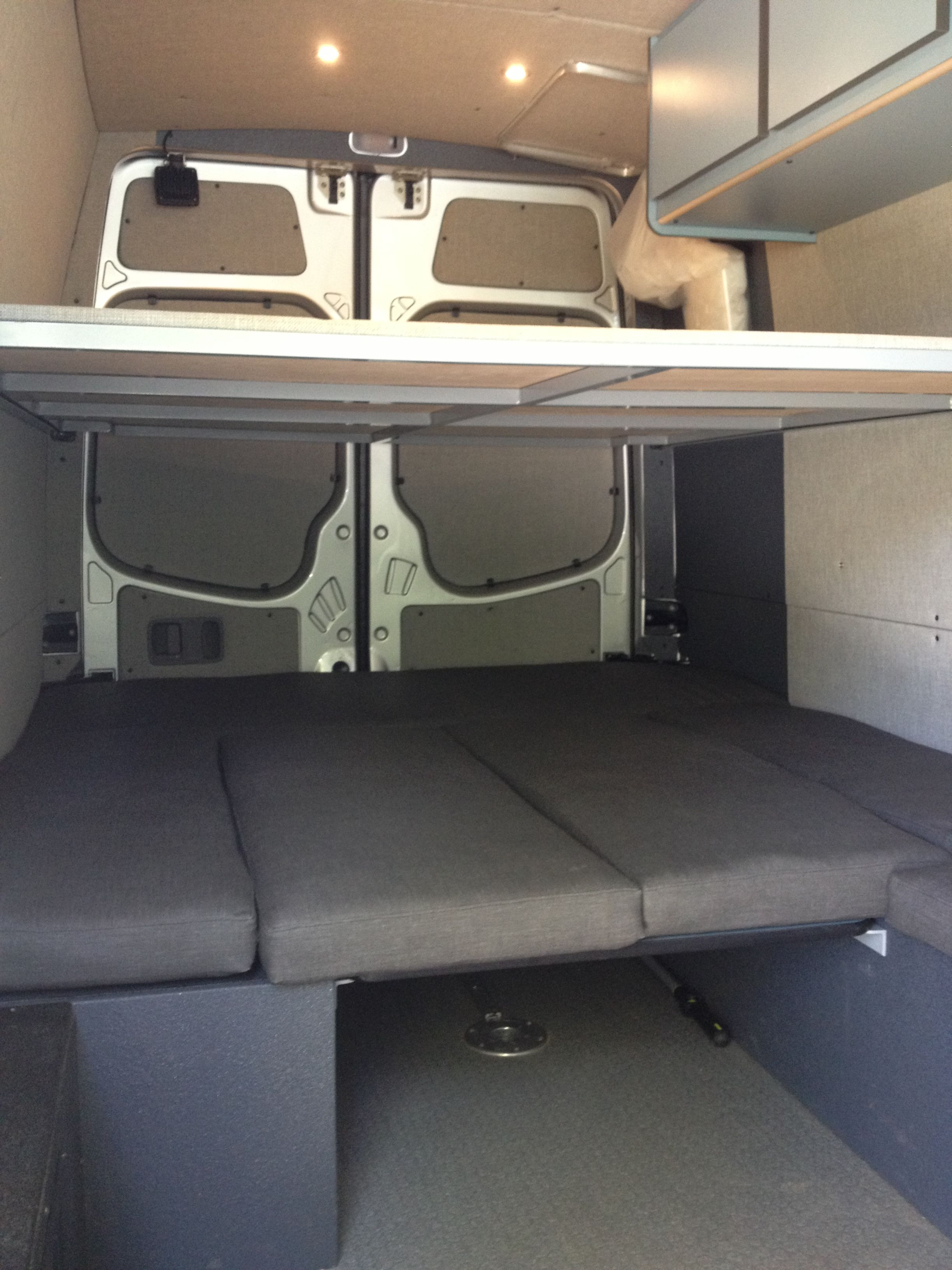 Sprinter Double Queen Bed
