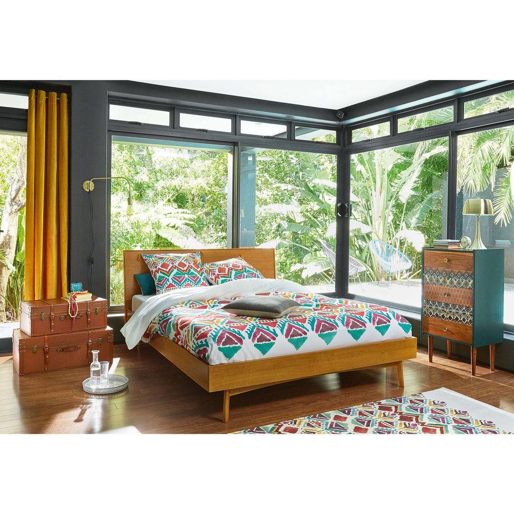 Vintage Massives Eichenbett, 160x200 | Betten | Pinterest | Betten ...