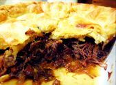 Plan ahead for this pie the stew should cook overnight to tenderize the oxtail   Winter foods