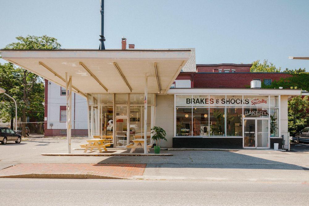 Gas Stations Turned Restaurants & Bars outdoor social