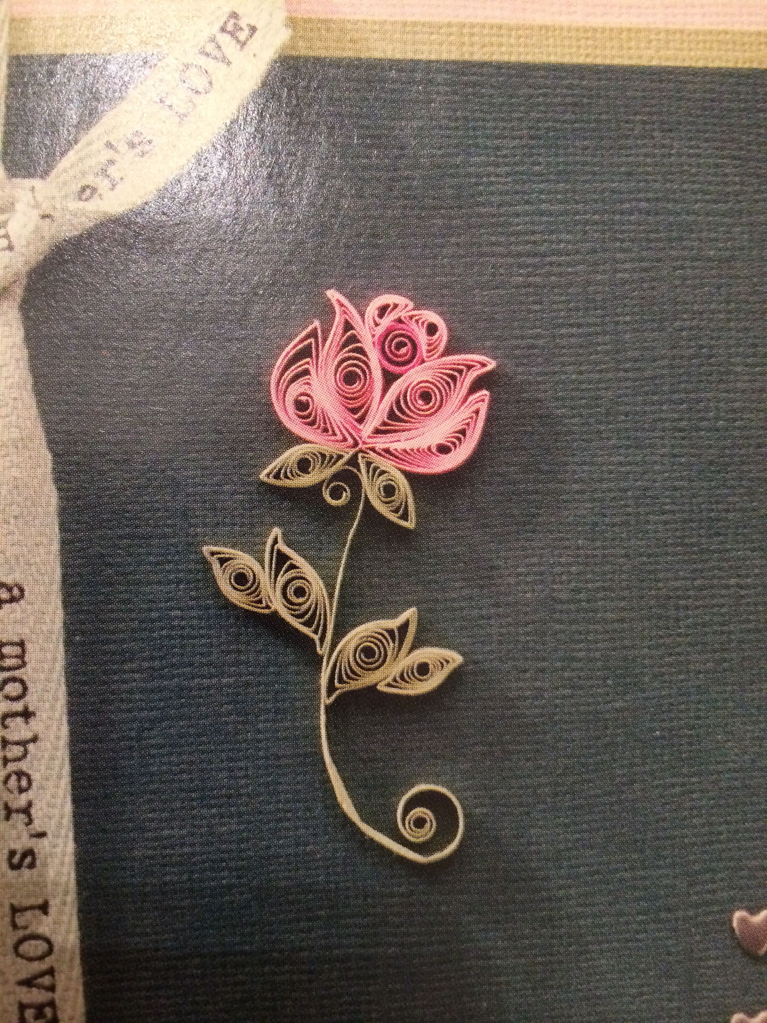 Simple Elegant Flower More Crafting Diy Center Card Making