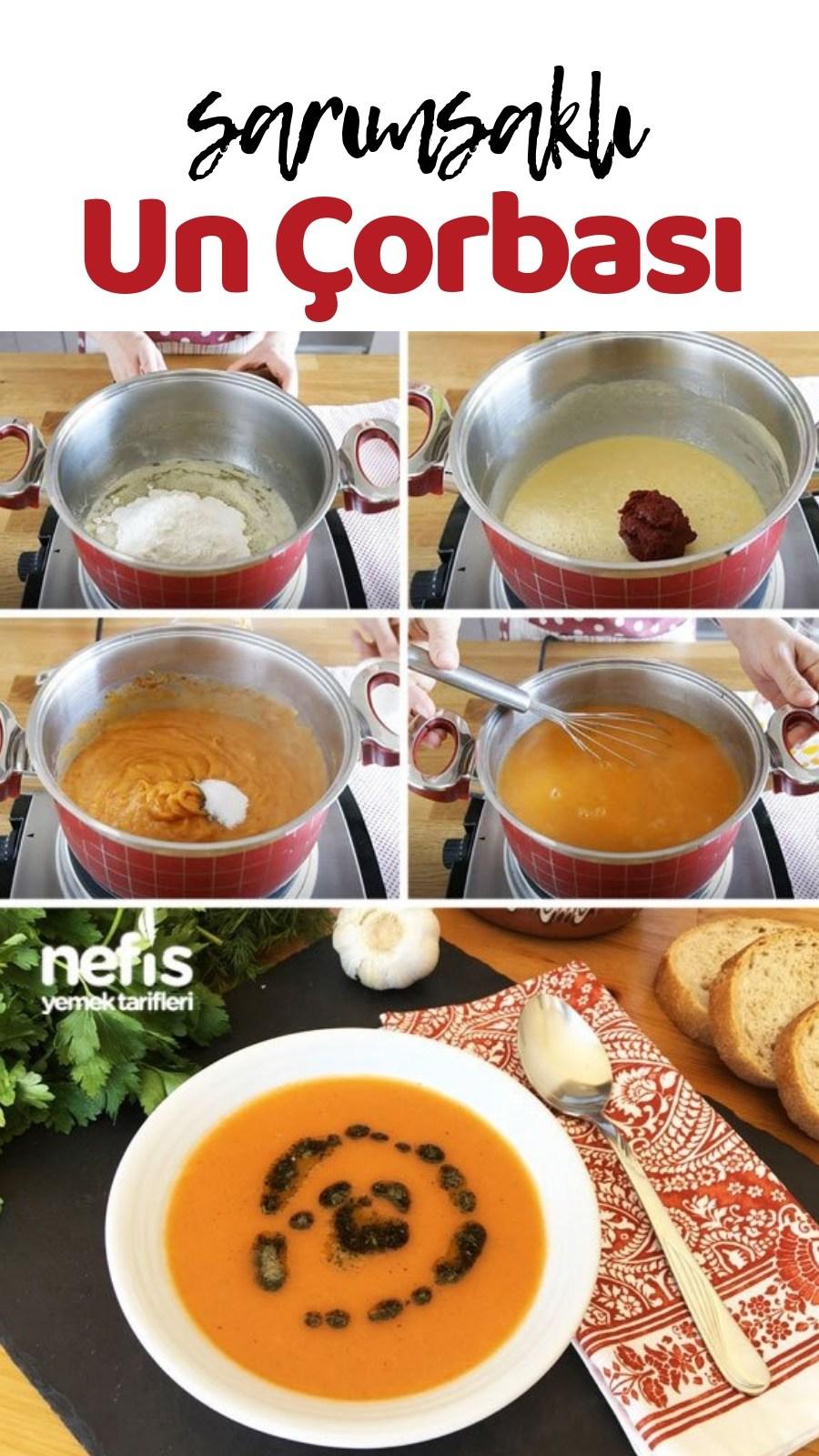 Garlic Paste Soup Recipe - Yummy Recipes -
