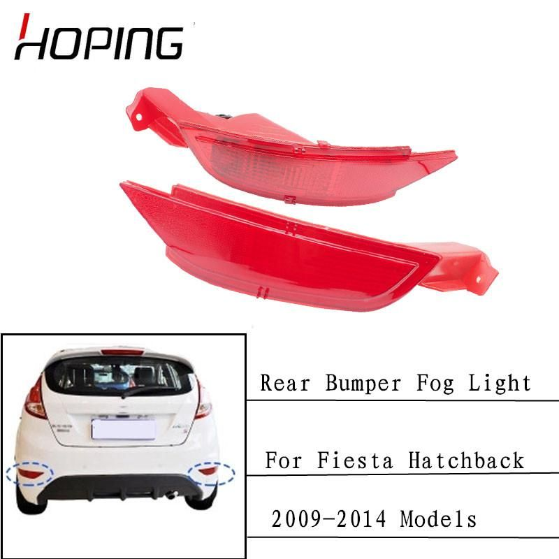 Hoping Car Rear Bumper Fog Lights Rear Reflector Lamp For Ford