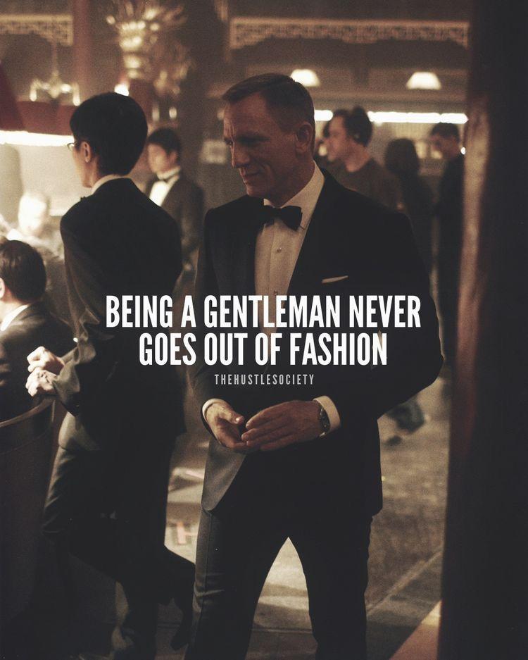 Love This Quote 007 Gentlemanstyle Danielcraig Captions
