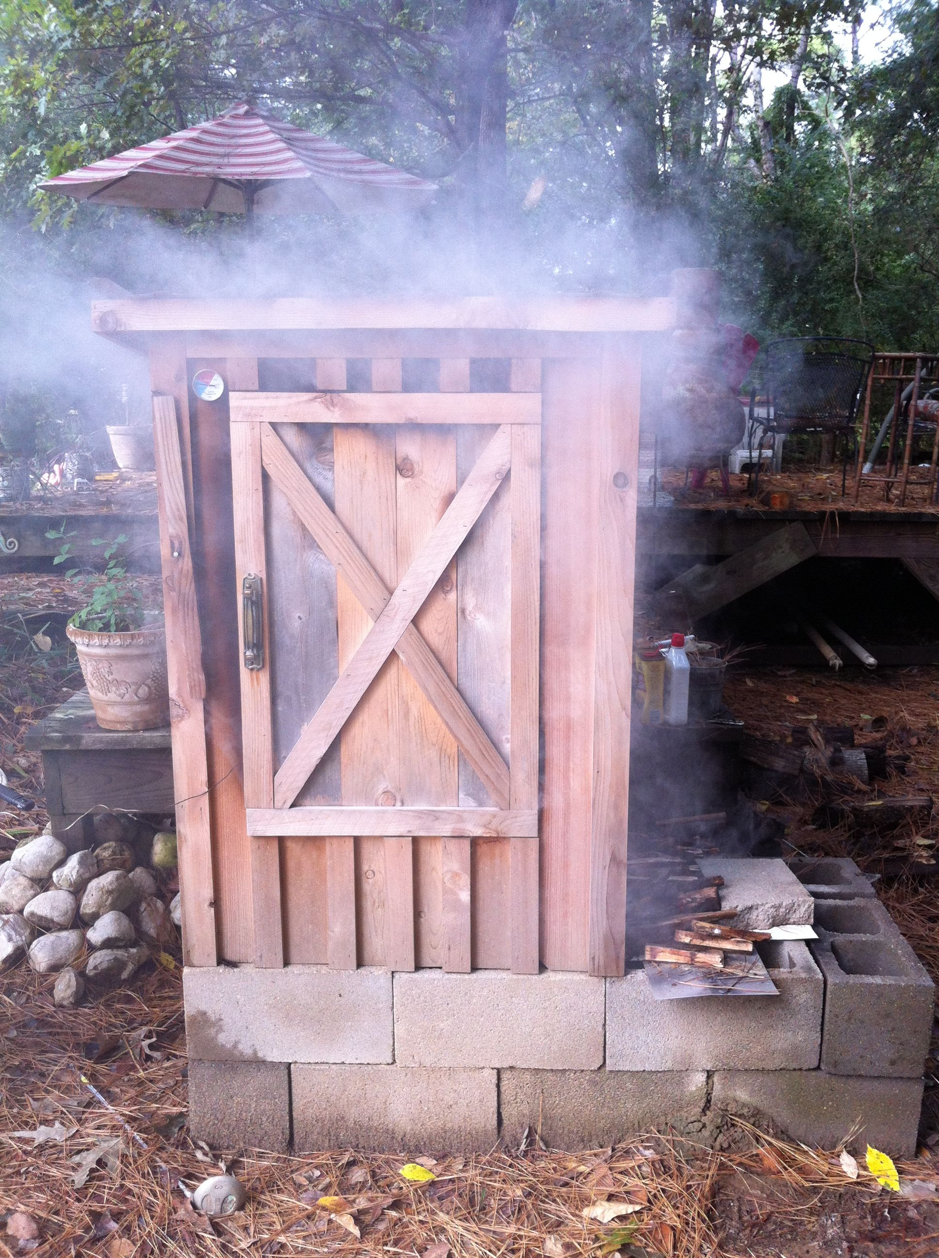Home smokehouse with his own hands. Home smokehouse for gas stove 58