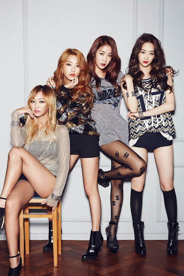 Name Sistar Debut 2010 Members Bora Hyojung Jihyun Dasom Sistar Kpop Sistar Kpop Girls