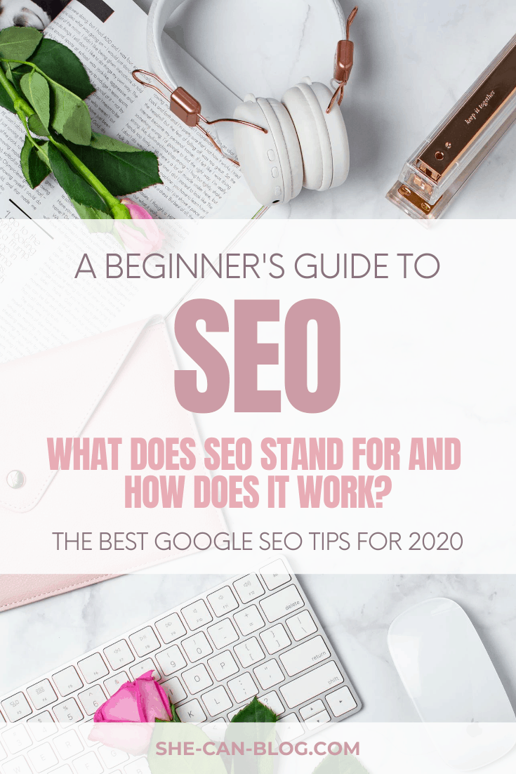 A beginner's guide to SEO: The best Google SEO tip