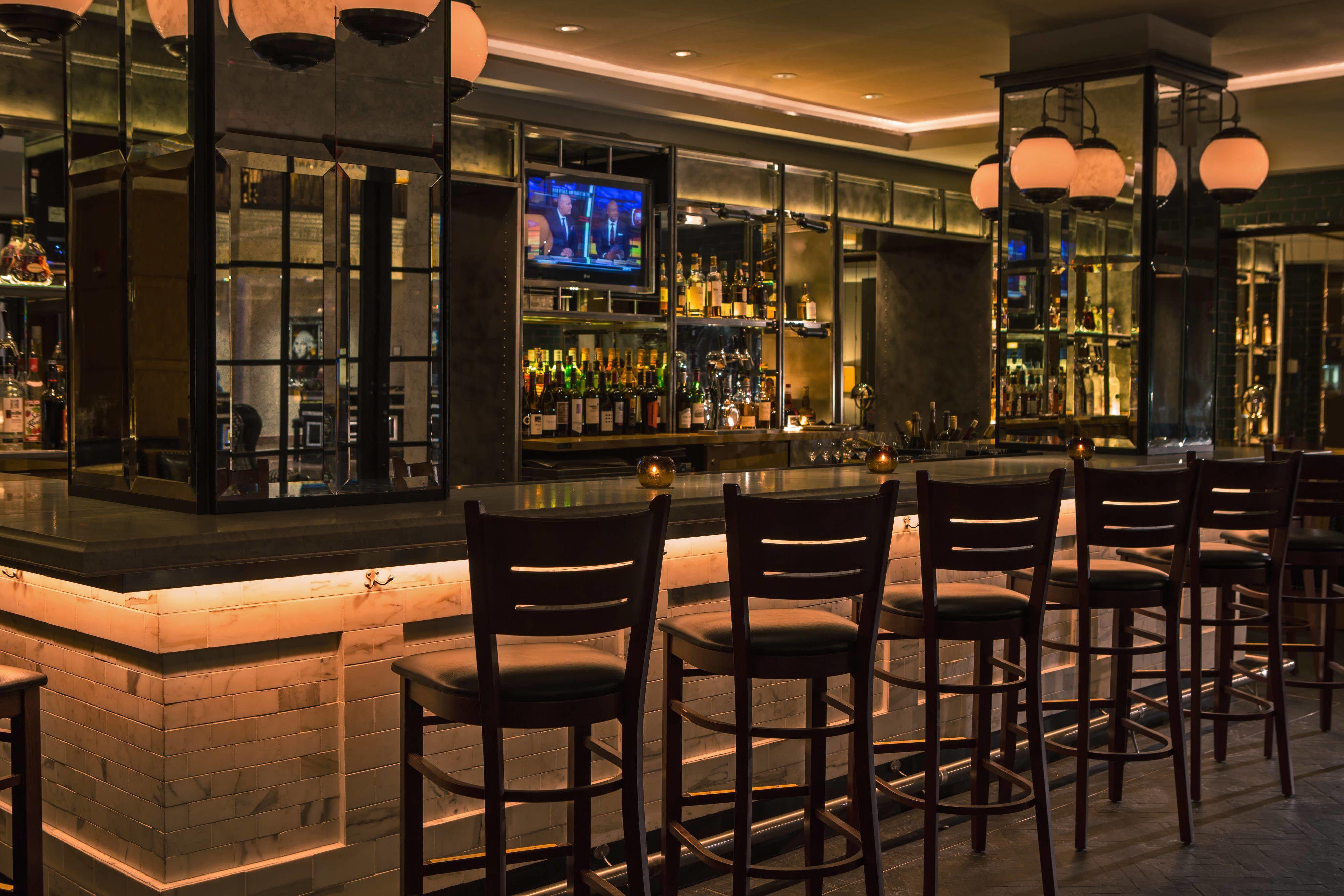 The Mayflower Hotel Autograph Collection Edgar Bar Hotels Relax Guest Kitchen Bar Hotel Bar