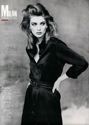 Elle (UK) October 1991 | Ludmilla