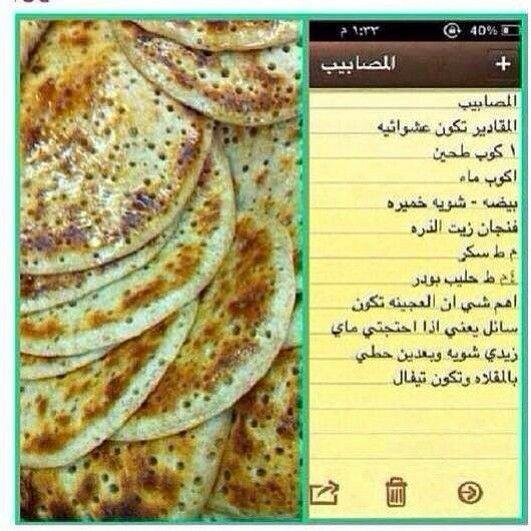 مصابيب Food Breakfast Bread