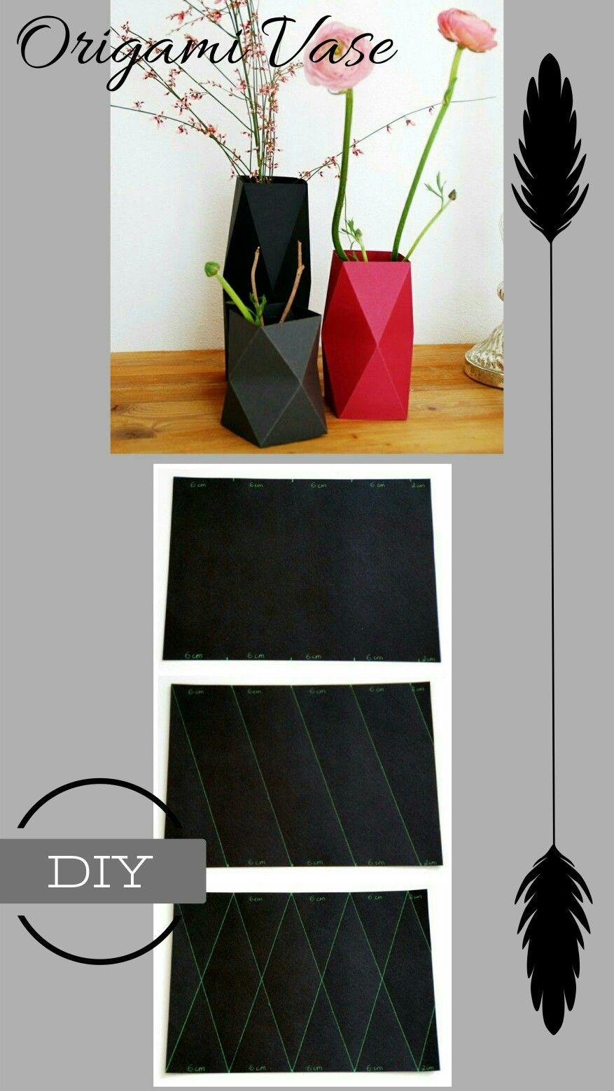 Diy Paper Crafts how to make paper vase diy craft
