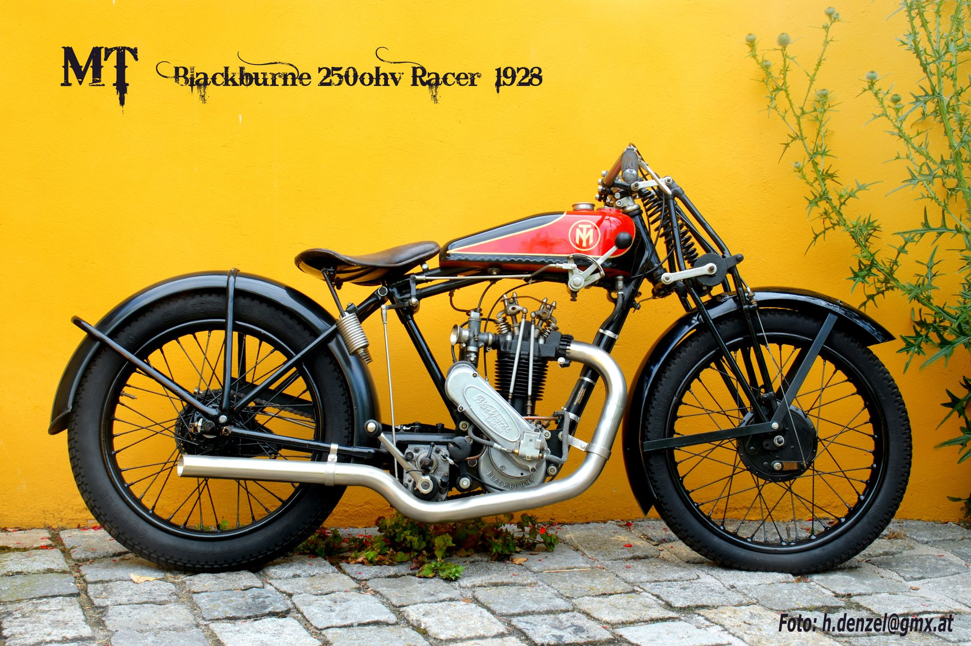 MT 250ohv Blackburne Racer 1928