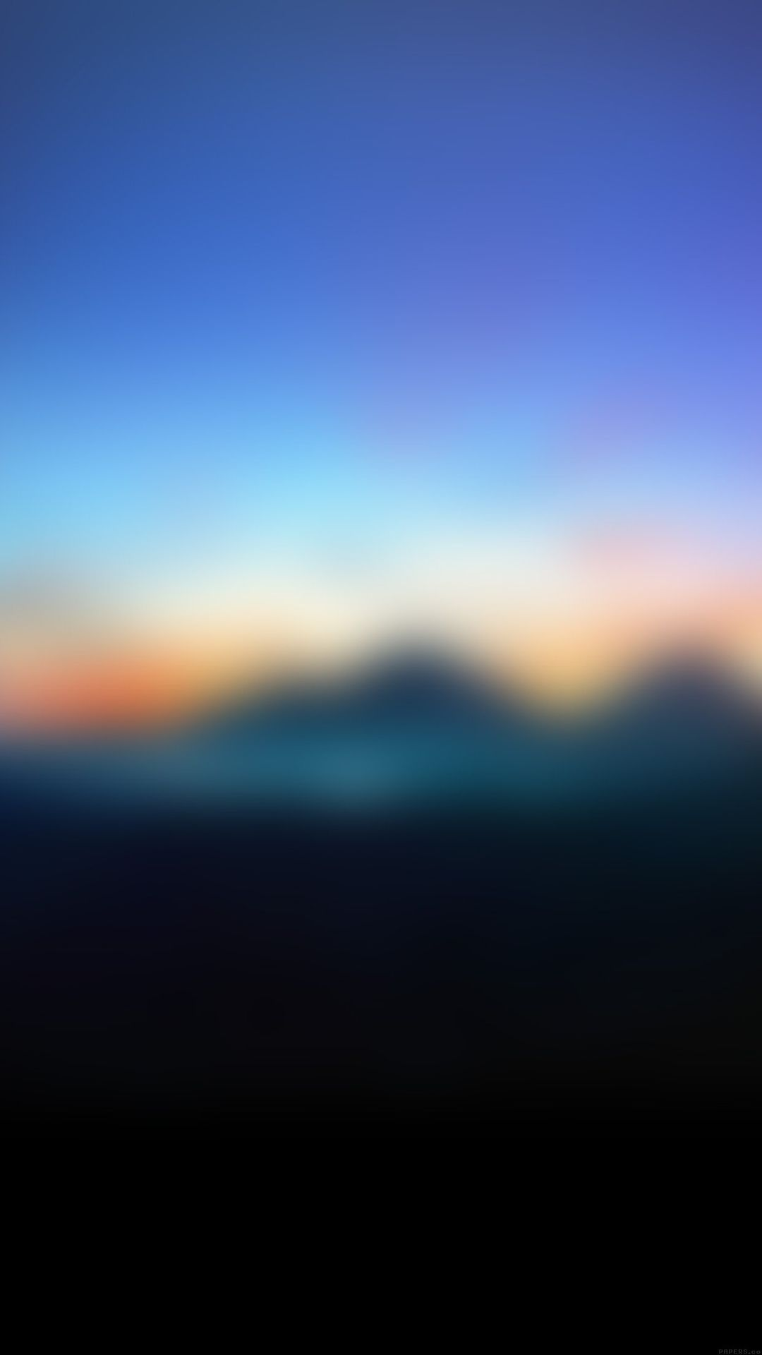 mountain sunrise gradation blur iphone 6 plus wallpaper