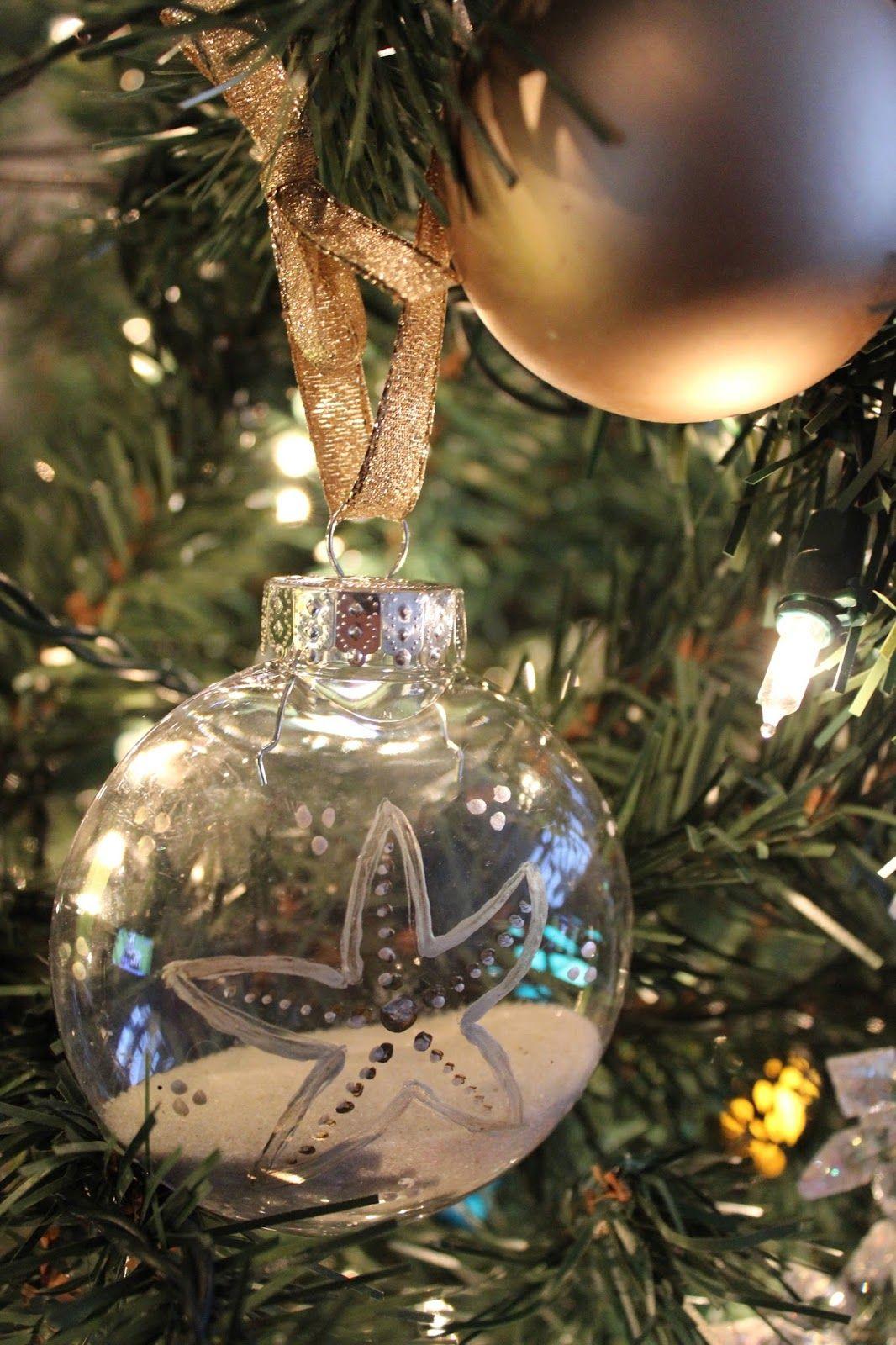 Diy Coastal Christmas Decorations With Images Coastal