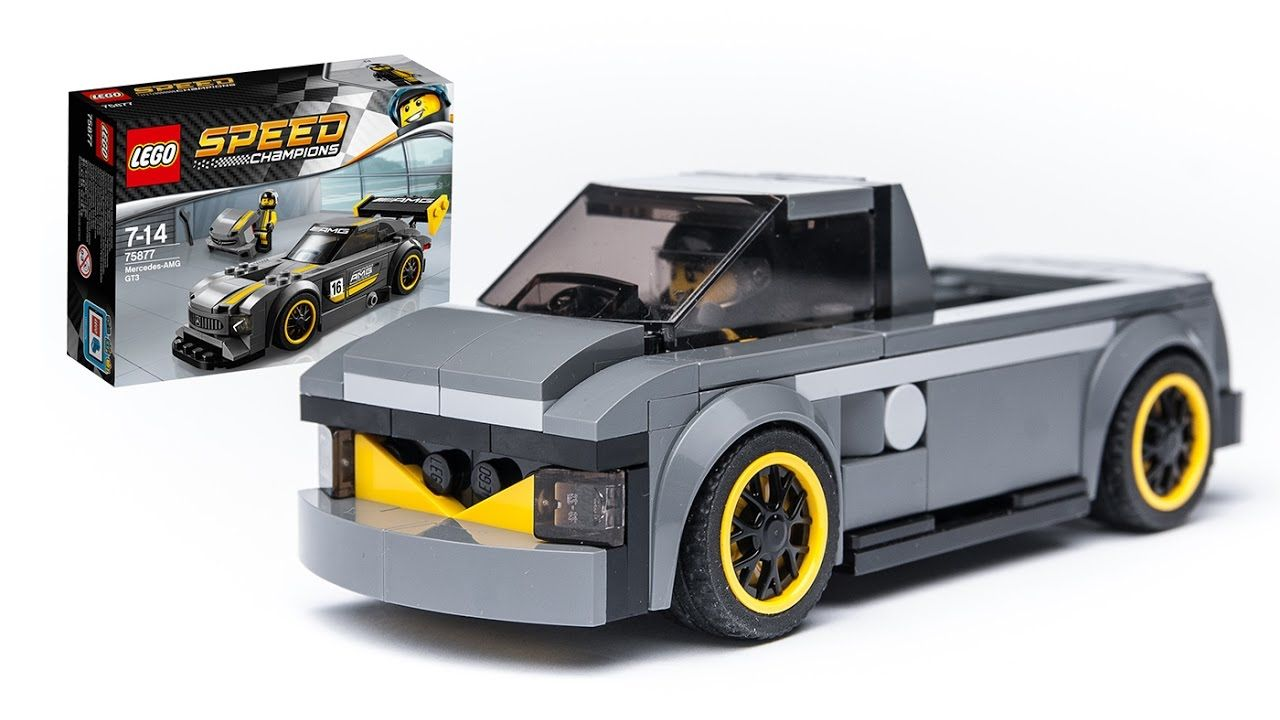This Is A Lego Speed Champions 75877 Alternate Moc Pick Up Car