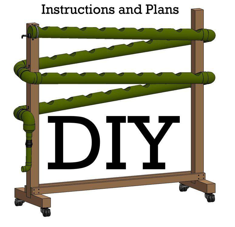 Do it Yourself Vertical Hydroponic Garden Idea – Vertical Hydroponic Garden Plans