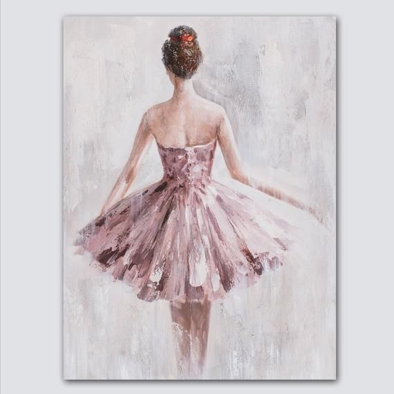 Oil Paintings Character Art On Canvas Girl Gift,Wo