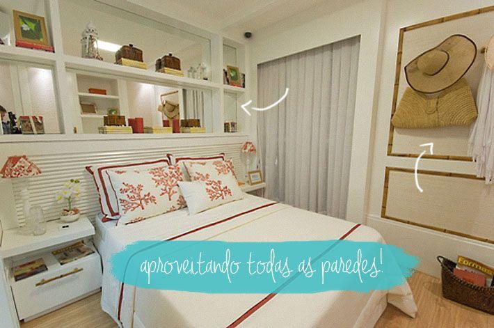 Quartos pequenos como decorar quartos and quarto casal - Como decorar espacios pequenos ...