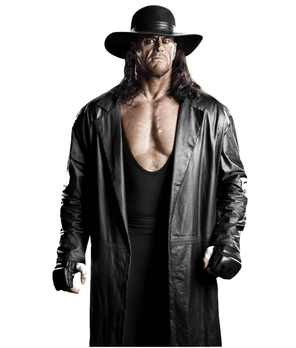 2019 WWE UNDERTAKER Winter Mens Jacket Sweatshirts Hoodie Thicken Zipper Coat